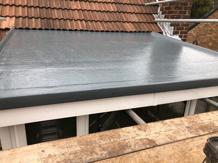 GRP flat roof Leeds | Flat roofing Leeds | Greenhill Roofing